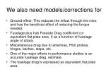 we also need models corrections for
