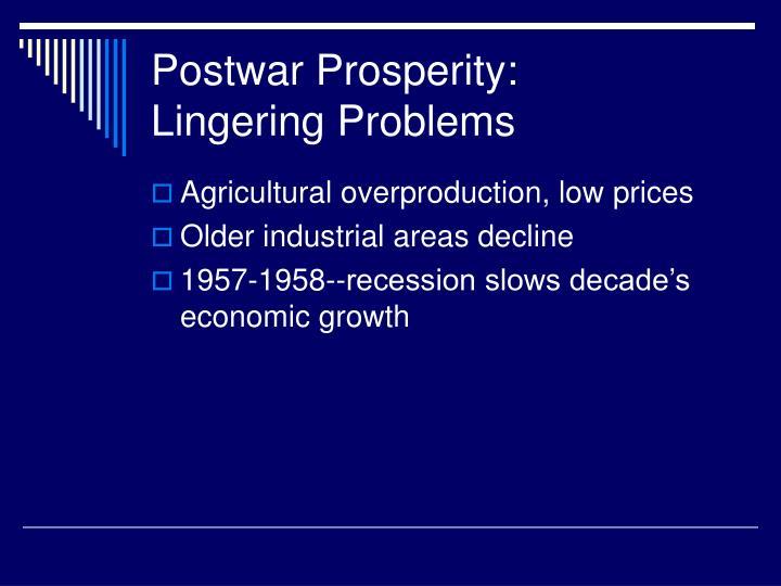 Postwar Prosperity: