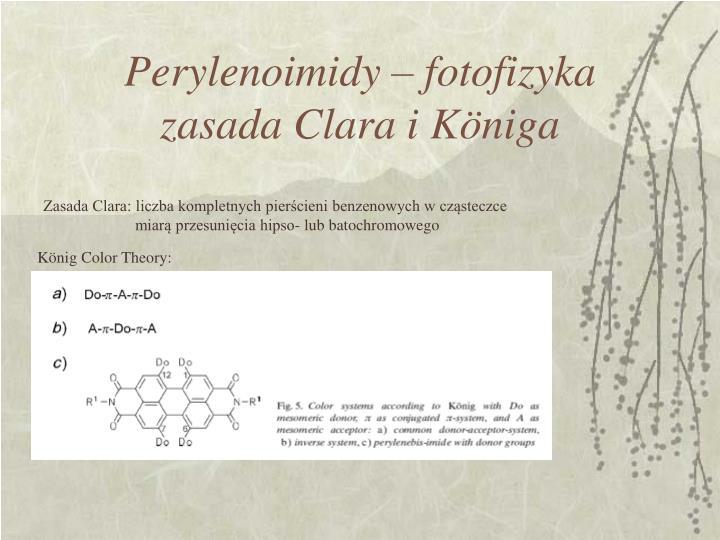 Perylenoimidy – fotofizyka