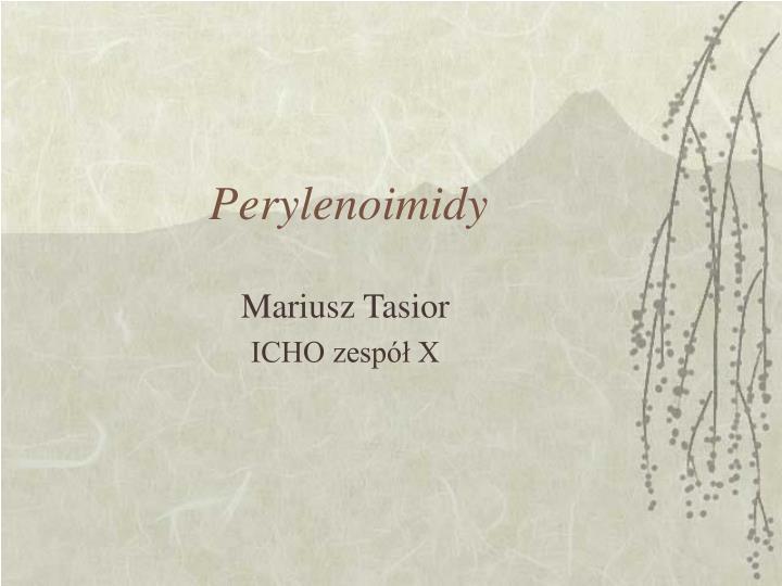 Perylenoimidy