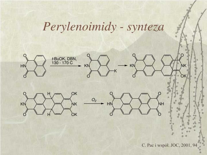 Perylenoimidy - synteza