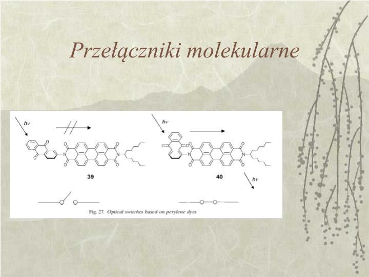 Przełączniki molekularne