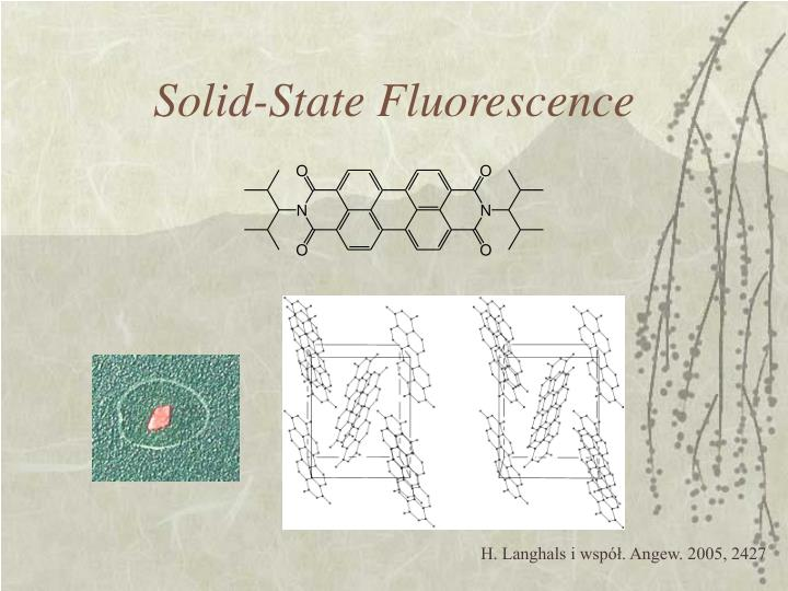 Solid-State Fluorescence