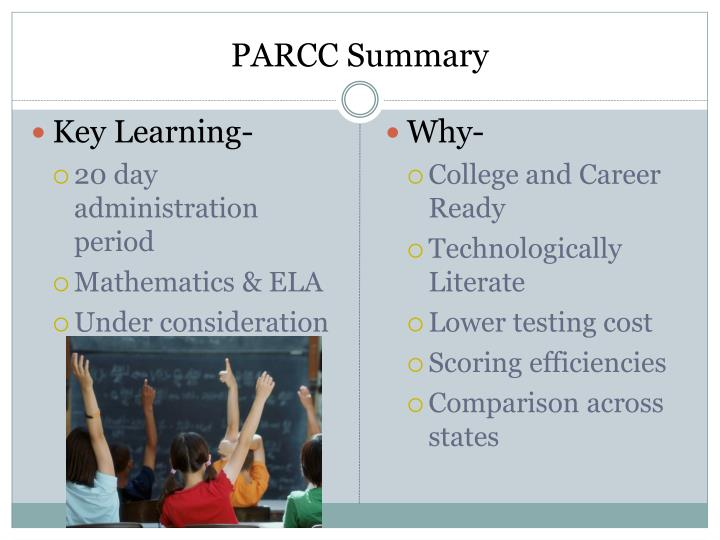 PARCC Summary
