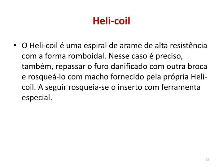 Heli-coil