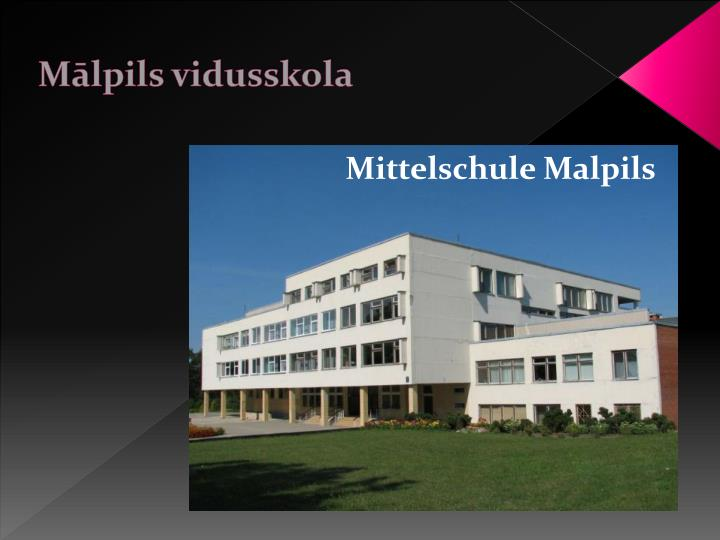 Mālpils vidusskola