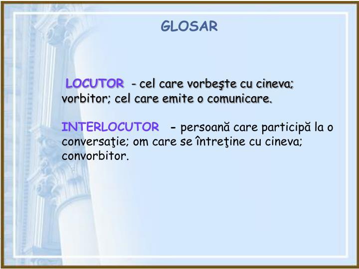 GLOSAR