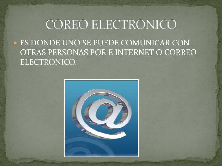 COREO ELECTRONICO