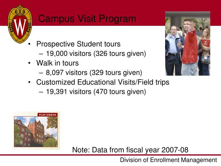 Campus Visit Program