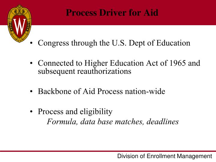 Process Driver for Aid
