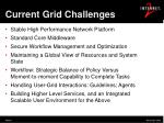 current grid challenges