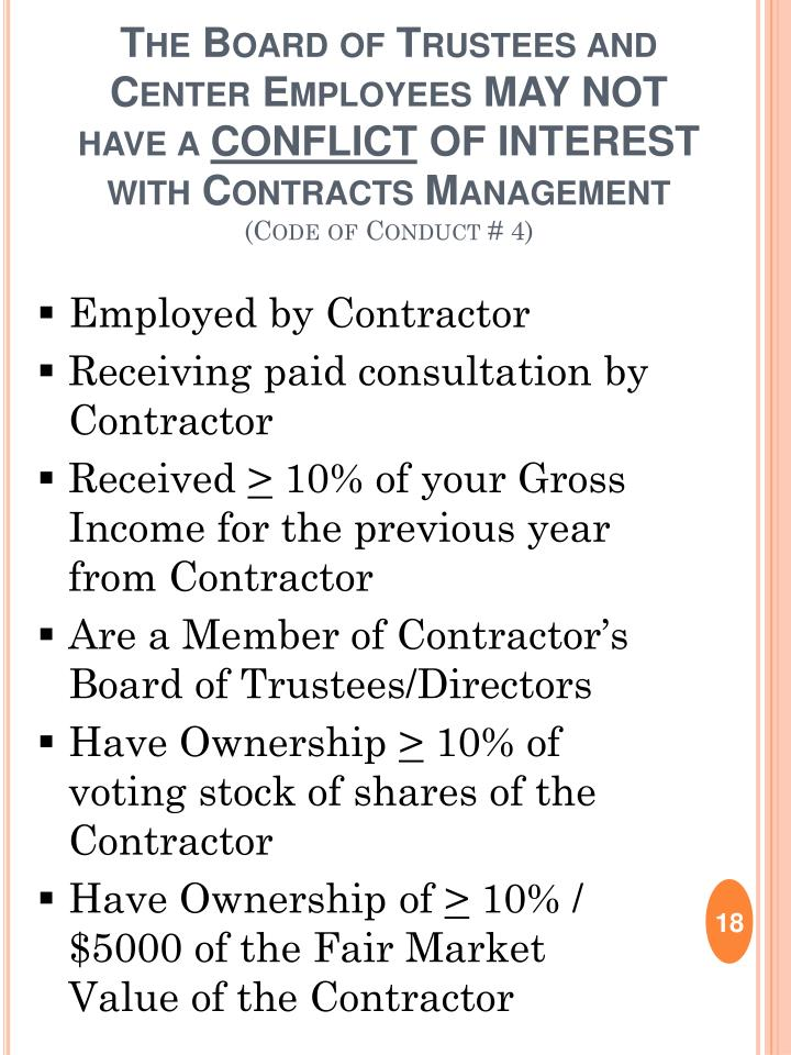 Employed by Contractor