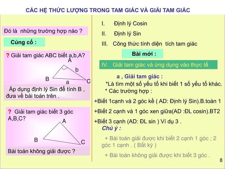 CC H THC LNG TRONG TAM GIC V GII TAM GIC