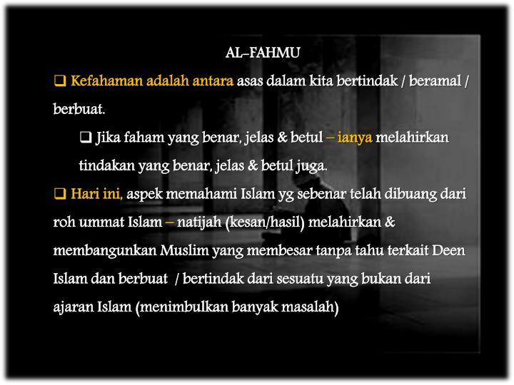 AL-FAHMU