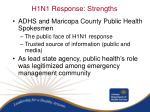 h1n1 response strengths1