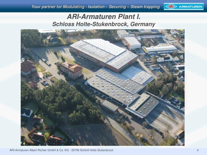 ARI-Armaturen Plant I.