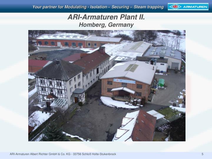 ARI-Armaturen Plant II.