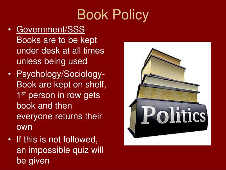 Book Policy