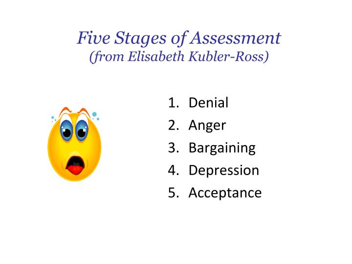 Five Stages of Assessment