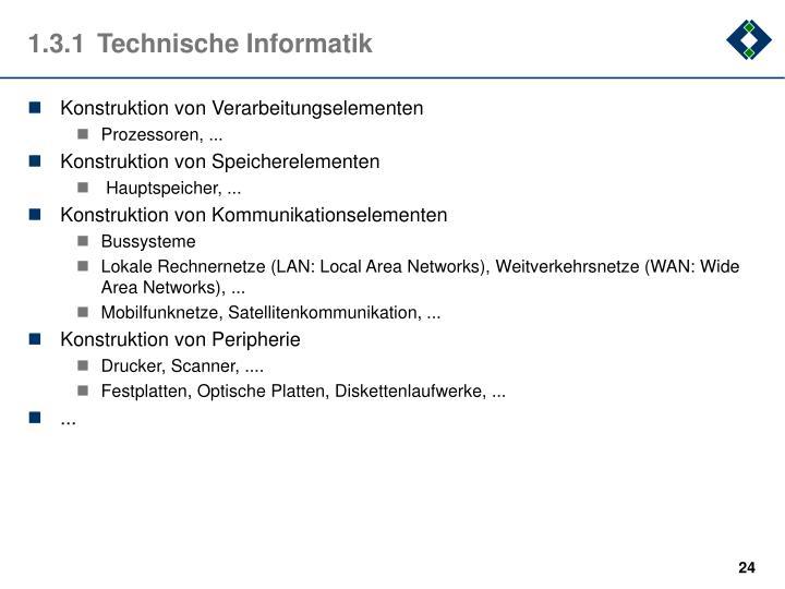 1.3.1Technische Informatik