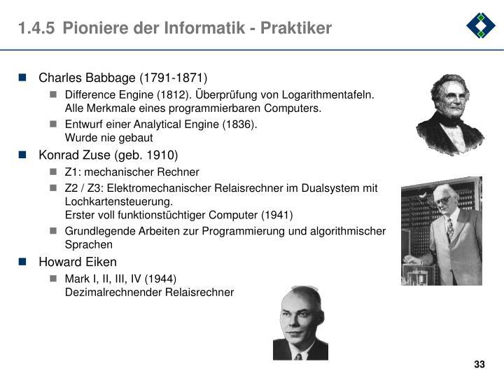1.4.5Pioniere der Informatik - Praktiker