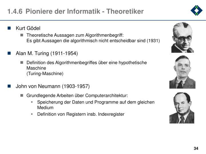1.4.6Pioniere der Informatik - Theoretiker
