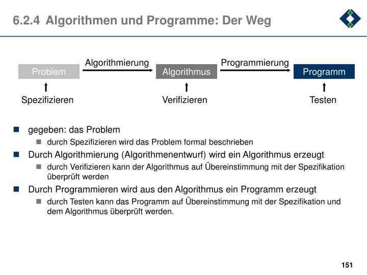 Algorithmierung
