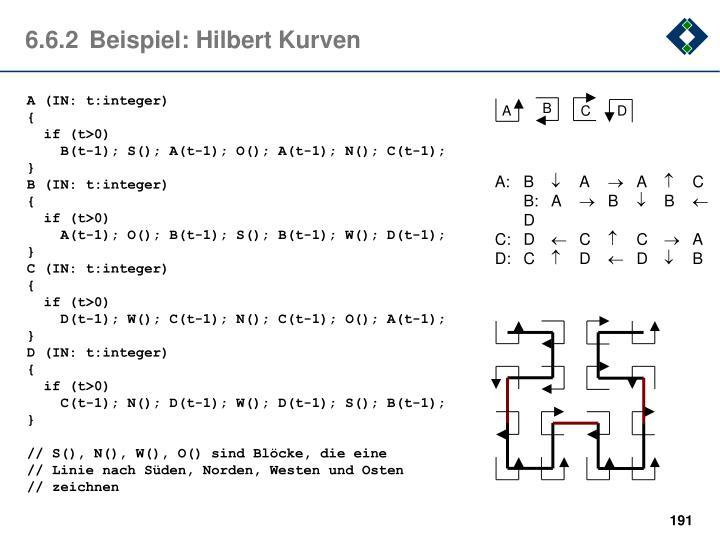 6.6.2Beispiel: Hilbert Kurven