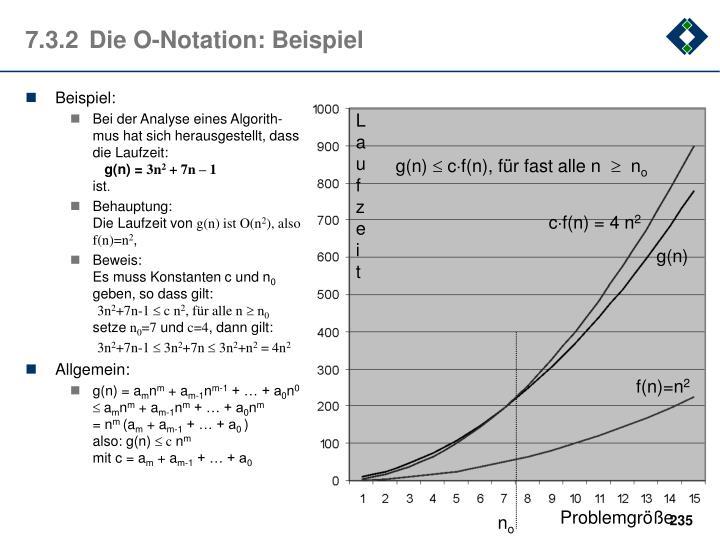 7.3.2Die O-Notation: Beispiel