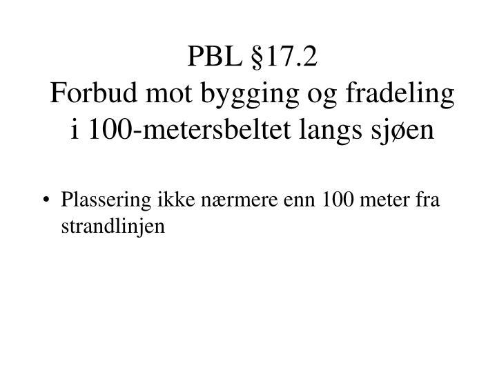 PBL §17.2