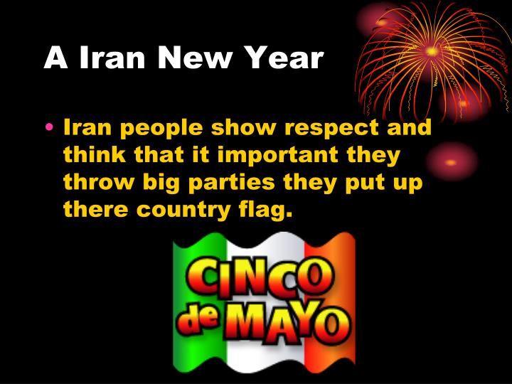 A Iran New Year