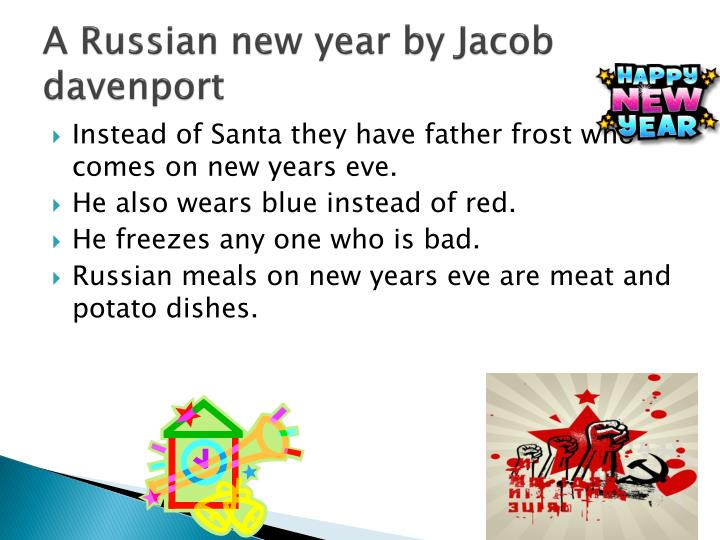 A Russian new year by Jacob davenport