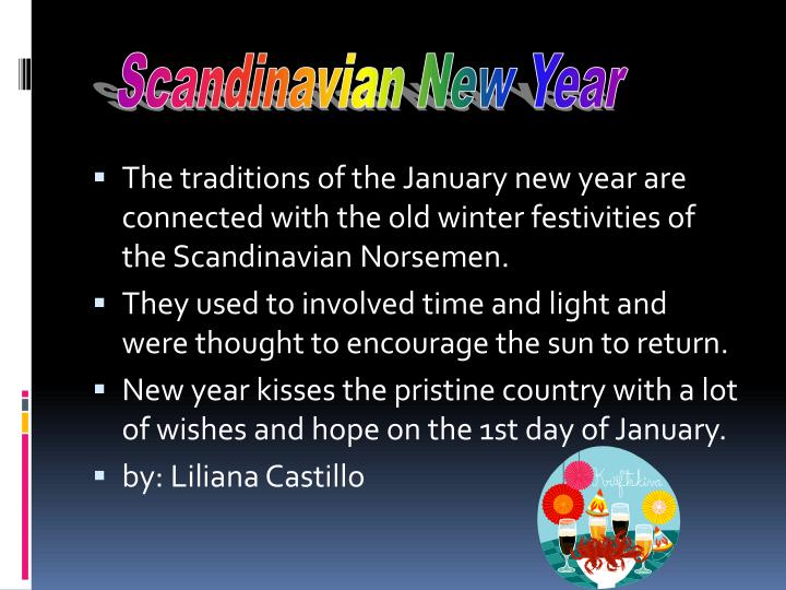 Scandinavian New Year