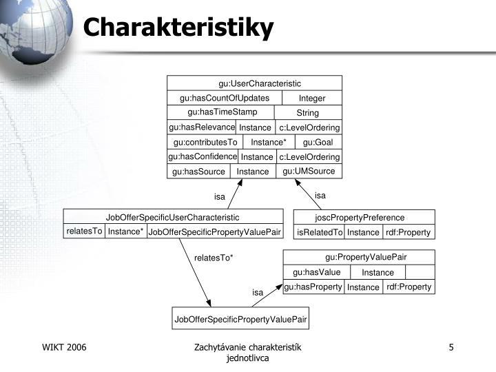 Charakteristiky