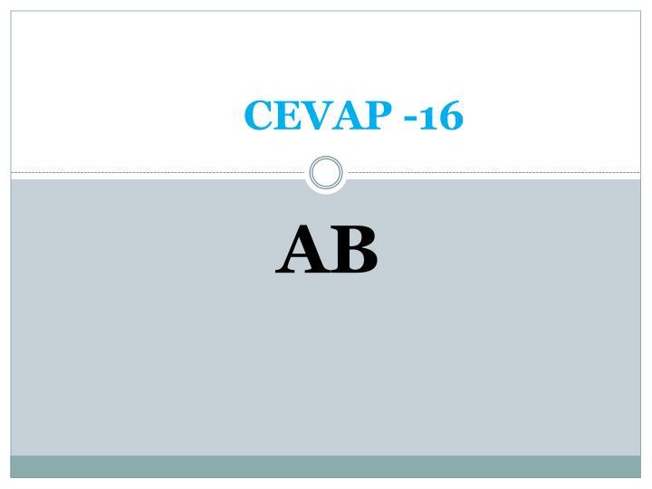 CEVAP -16
