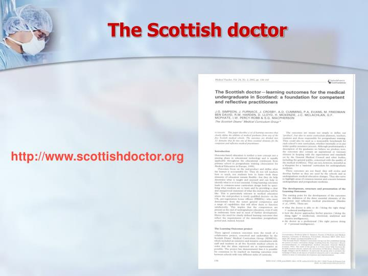 The Scottish doctor