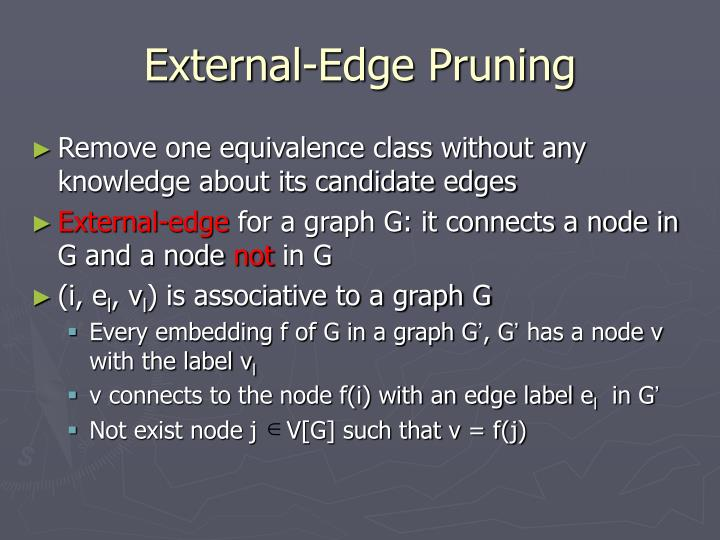 External-Edge Pruning