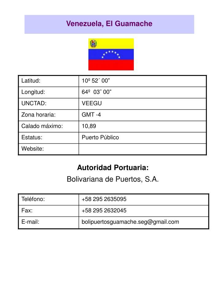 Venezuela, El Guamache