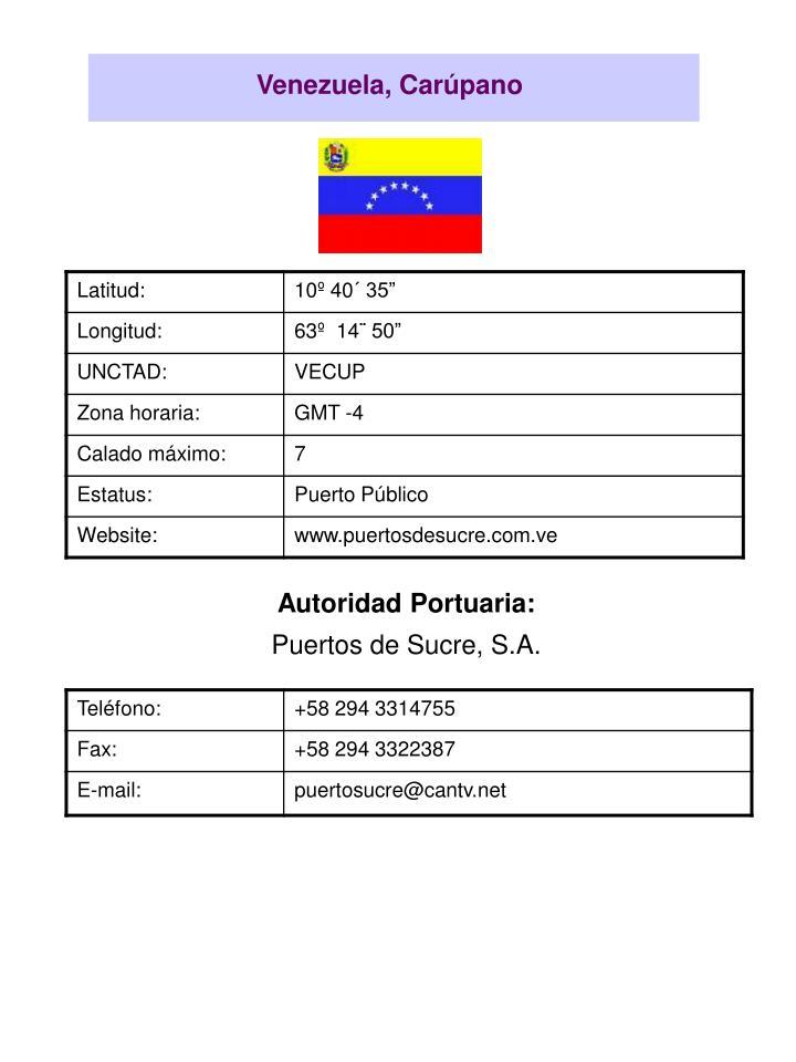 Venezuela, Carúpano