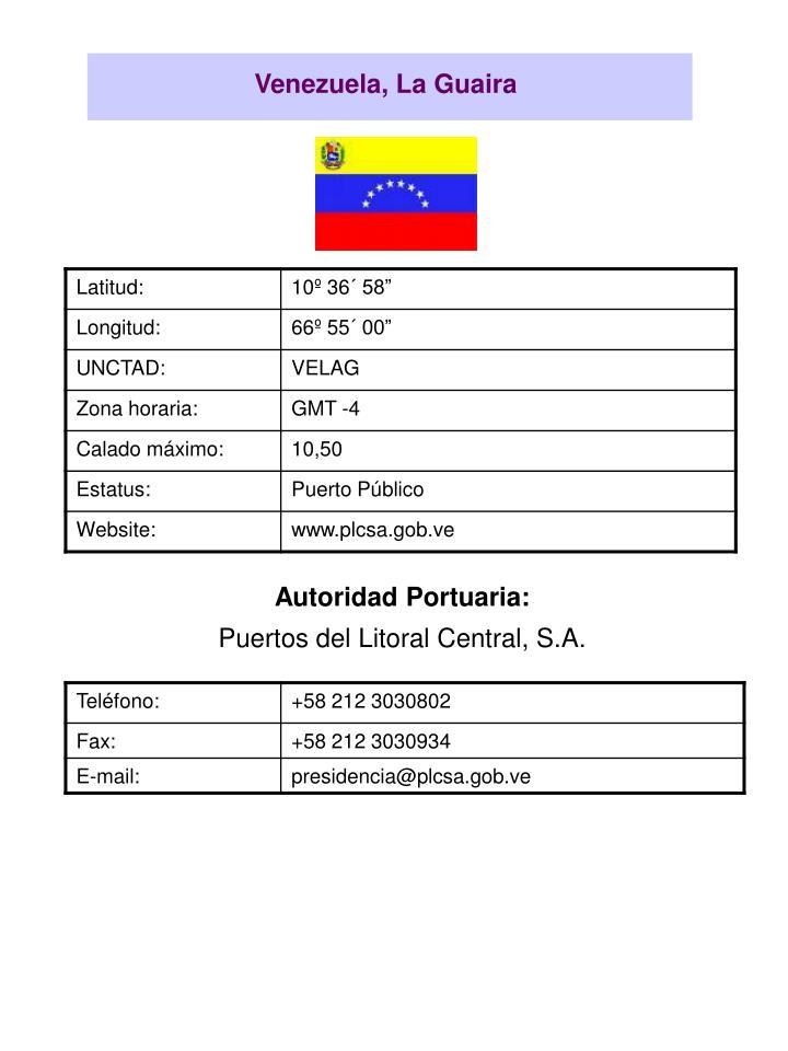 Venezuela, La Guaira