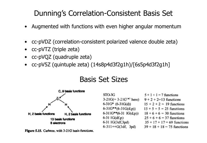 Dunning's Correlation-Consistent Basis Set