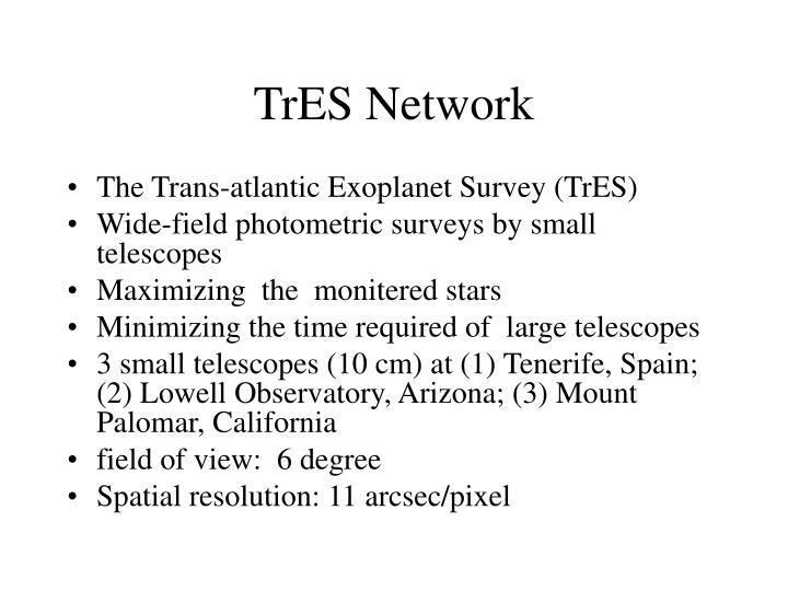 TrES Network