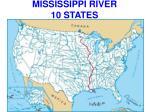 mississippi river 10 states