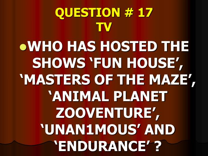QUESTION # 17