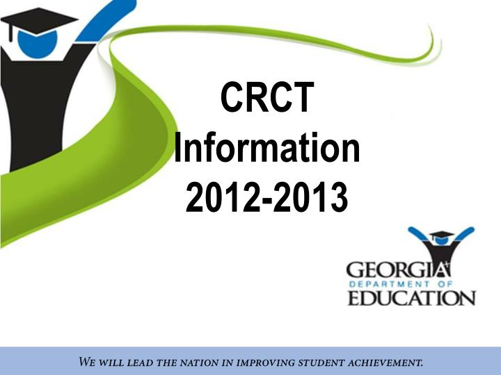 Crct information 2012 2013