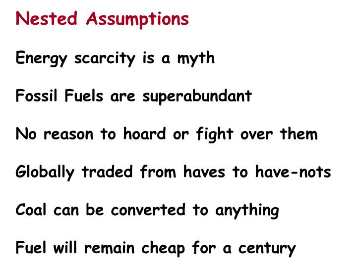 Nested Assumptions