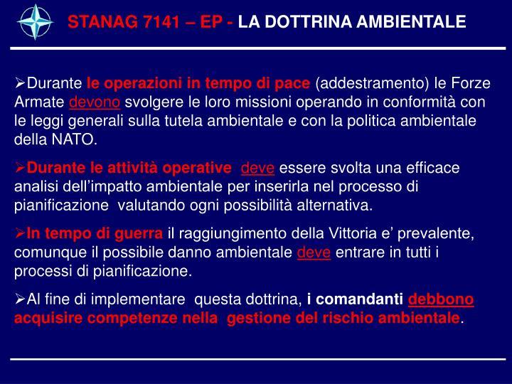 STANAG 7141 – EP -