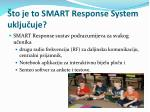 to je to smart response system uklju uje