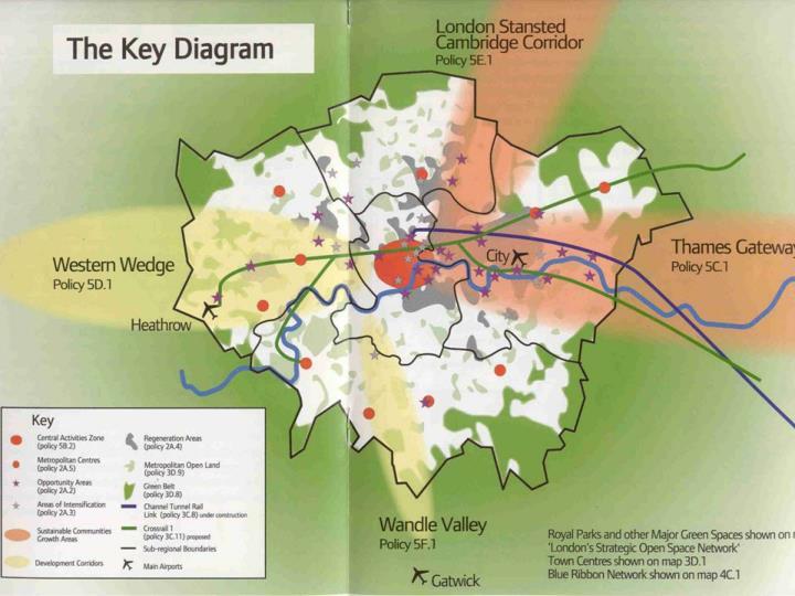 Londra'nın yeşil alanlara zarar vermeden büyümesini sağlamak,