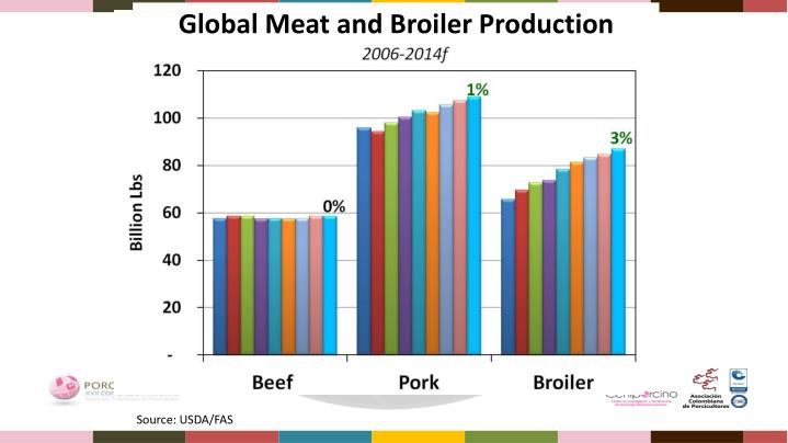 Global Meat and Broiler Production